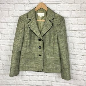 NWOT Jones New York Blazer Green Size 8